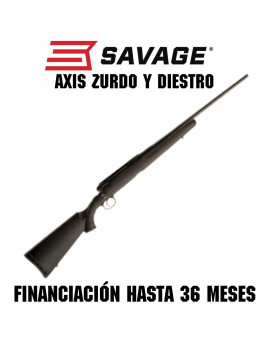 Rifle SAVAGE AXIS Zurdo y Diestro