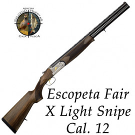 Escopeta FAIR X LIGHT SNIPE Cal. 12
